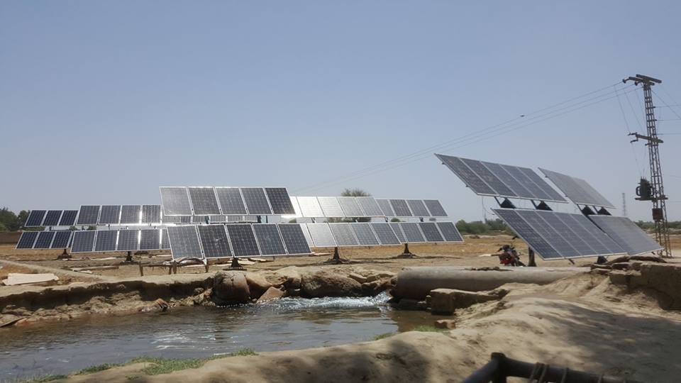 Supply & Installation Of Solar Pumping System For Water Scheme