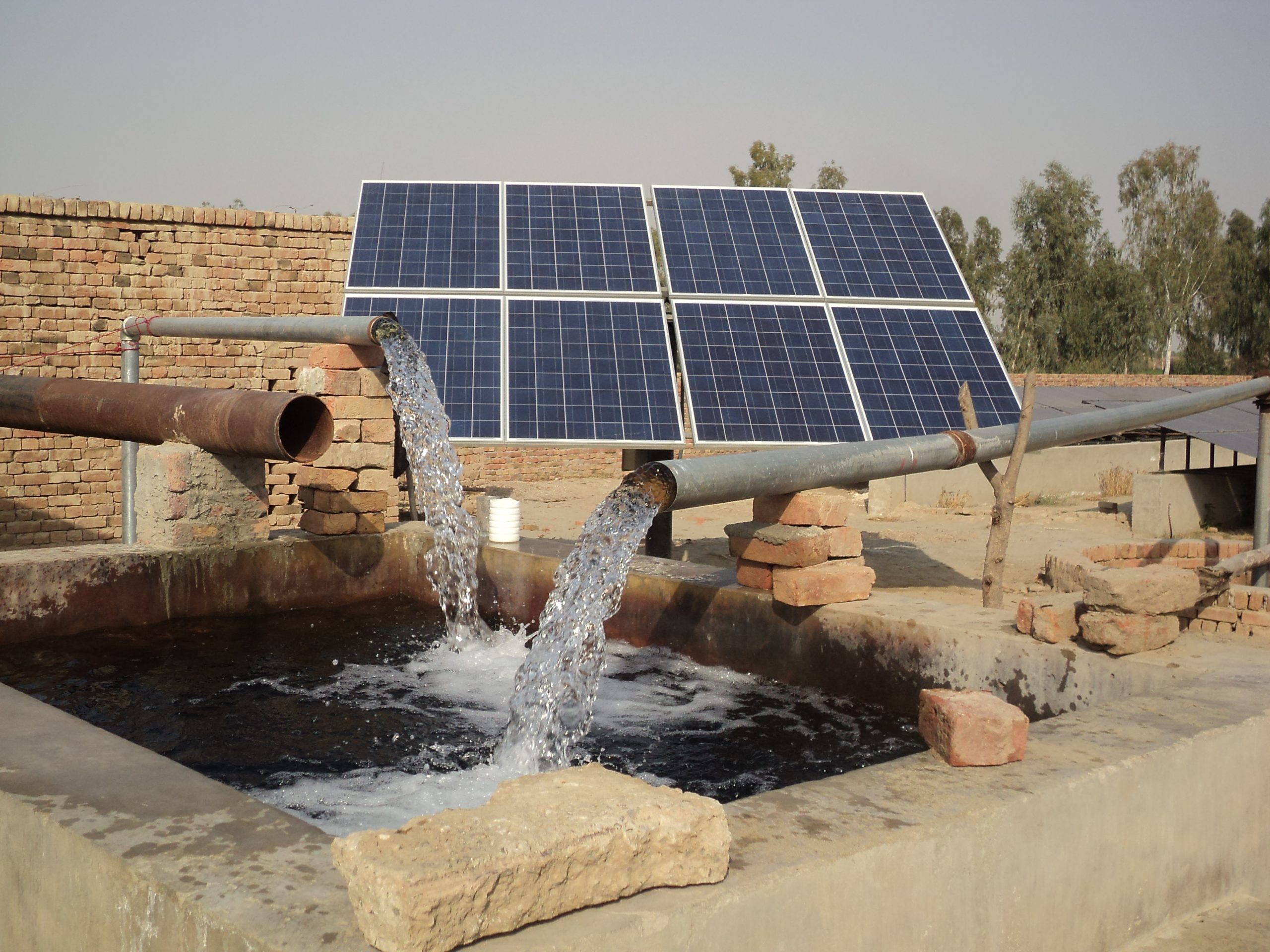Supply & Installation Of Solar Submersible Pumps For AED At Tarnab Peshawar, Khyber Pukhtun Khwa (KPK)