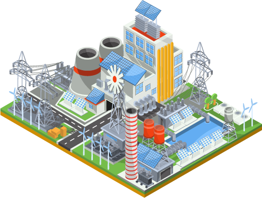 solar system for industry